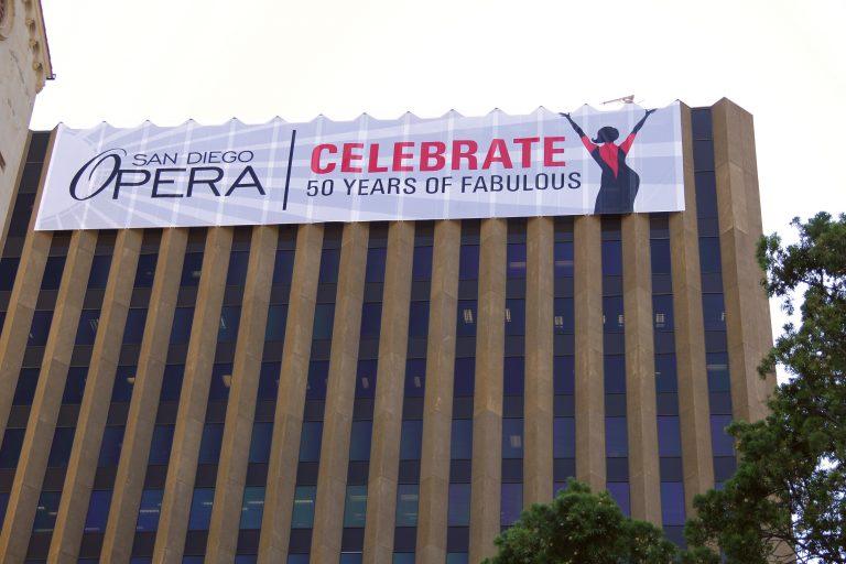 Mesh Building Banner