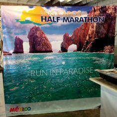 marathon fabric banner